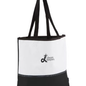 Dream Keepers Black and white tote